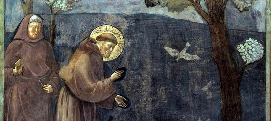 Giotto_-_Legend_of_St_Francis_-_-15-_-_Sermon_to_the_Birds_zugeschnitten